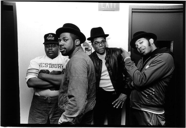 "Run-DMC and André ""Doctor Dré"" Brown, WBAU/90.3 FM (July 1983)"