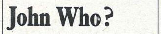 """""""John Who?"""" by Gary Jardim (1983/6/21)"""