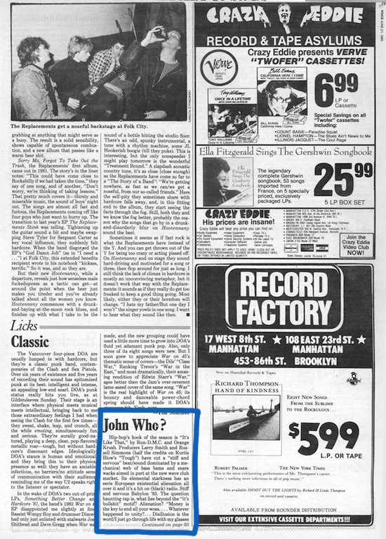 The Village Voice (1983/6/21)