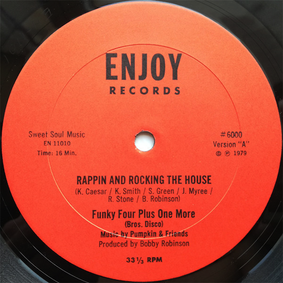 Funky Four Plus One / Rappin & Rocking The House (12inch 1979)