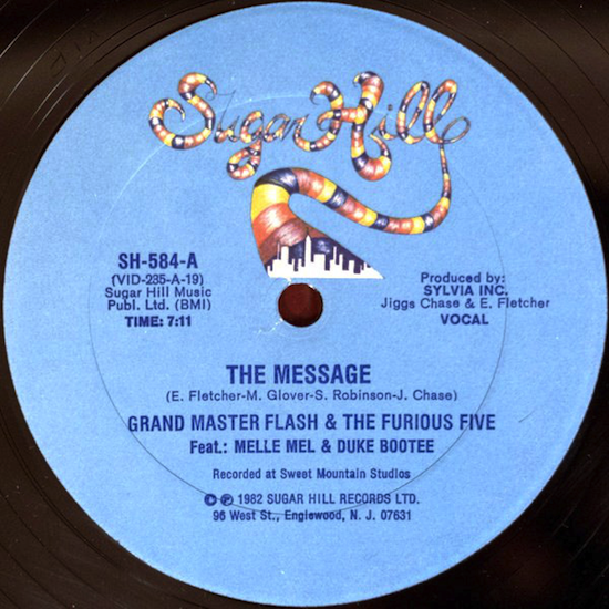 Grandmaster Flash & The Furious Five / The Message (1982)