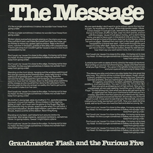Grandmaster Flash & The Furious Five / The Message (UK 1982)