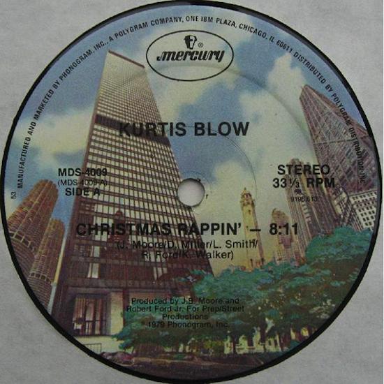 Kurtis Blow / Christmas Rappin' (12inch 1979)