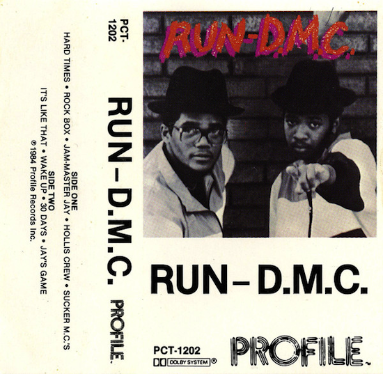 Run-D.M.C. / Run-D.M.C. (Cassette, Album 1984)