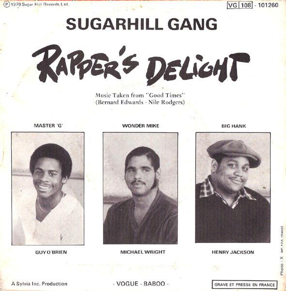 Sugarhill Gang / Rapper's Delight (France 1979)