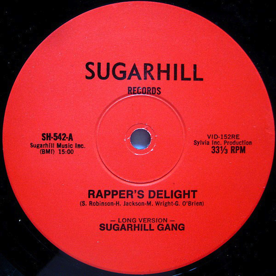 Sugarhill Gang / Rapper's Delight (Red label, 1st pressing 1979)