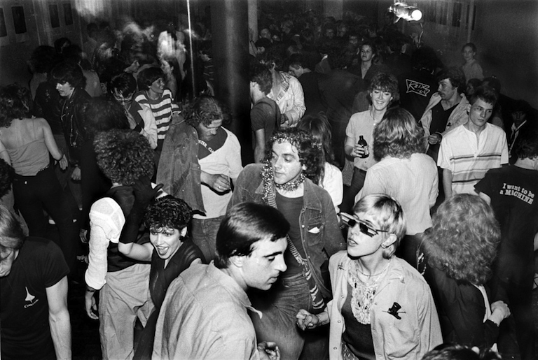 The Mudd Club dance floor, New York (1979)  Allan Tannenbaum