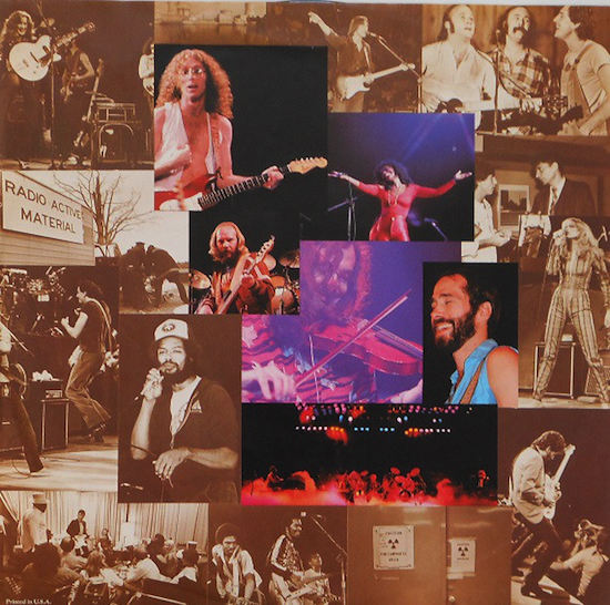 Various – No Nukes - From The Muse Concerts For A Non-Nuclear Future - Madison Square Garden (September 19-23, 1979)