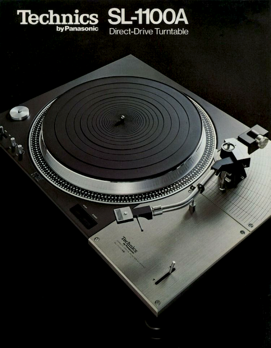 Technics SL-1100A Direct-Drive Turntable