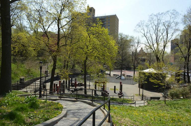 Cedar Playground (Cedar Park) in the Bronx
