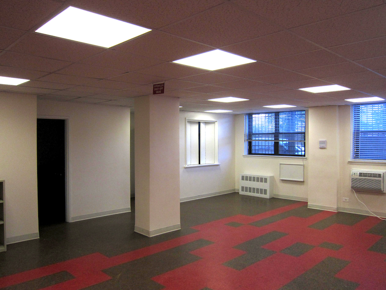 Community room at 1520 Sedgwick Avenue (2013)
