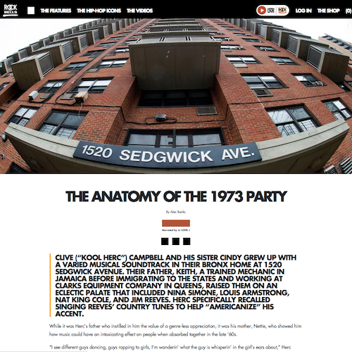 The Anatomy of the 1973 Party