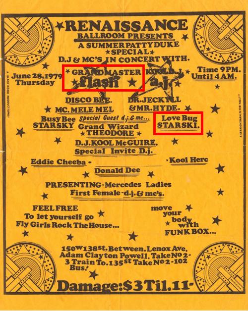 Party Flyer, Renaissance Ballroom, 150 W.138 St. (1979/06/28)