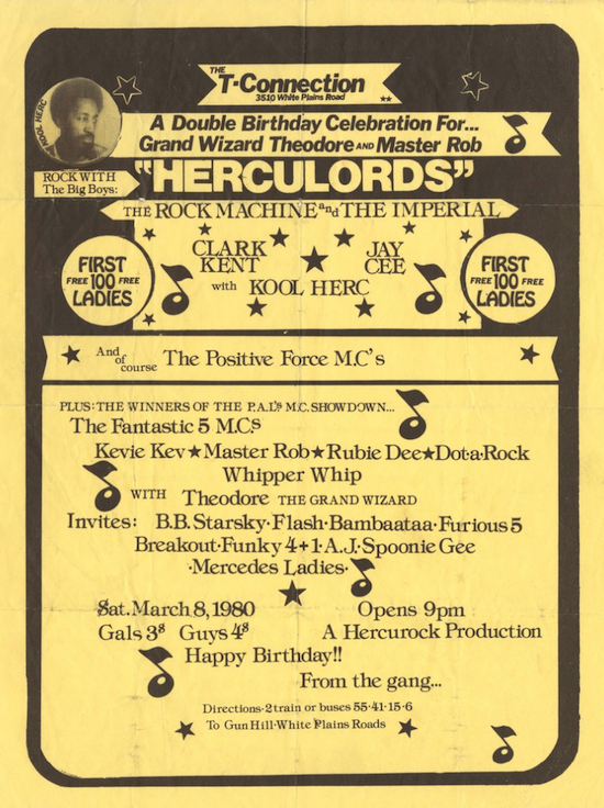 """The Herculords"" Party at T.Connection (1980)"