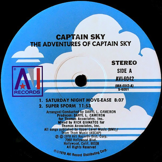 Captain Sky – The Adventures Of Captain Sky (1978)