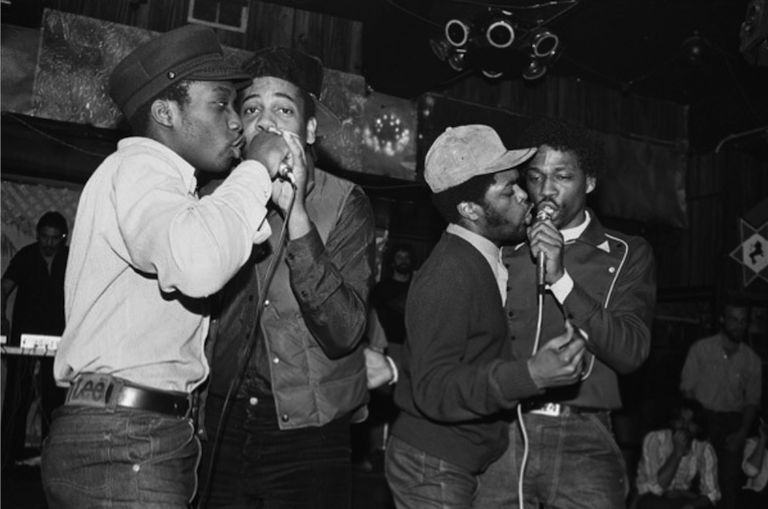 Cold Crush Brothers performing at Club Negril (1981)