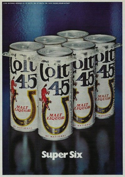 Colt 45 Malt Liquor Super Six Pack (1972)