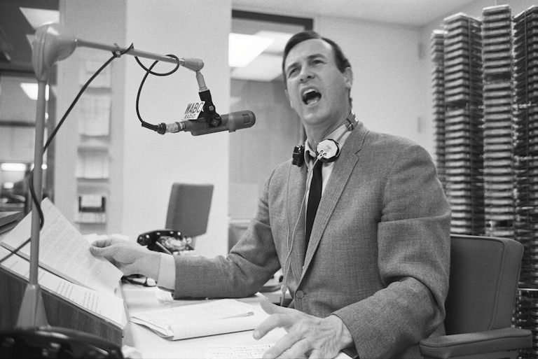 Cousin Brucie (Bruce Morrow) at WABC Radio (1966)