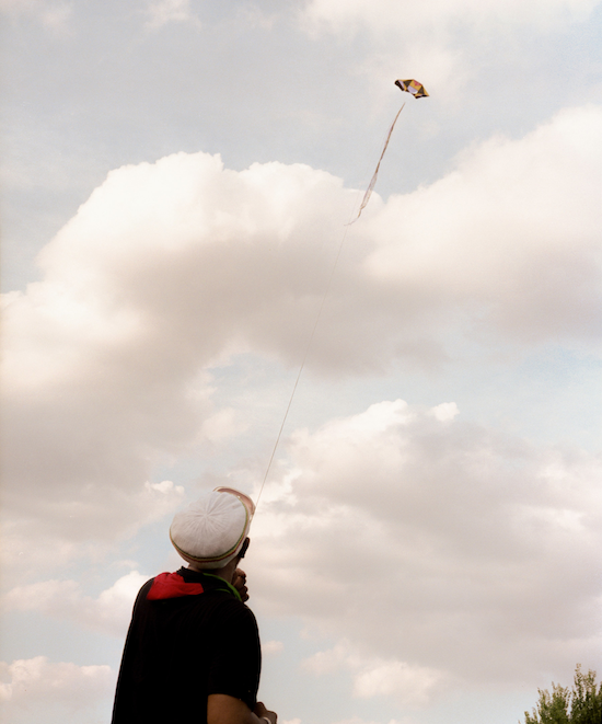 Kool Herc flying his kite (2019)