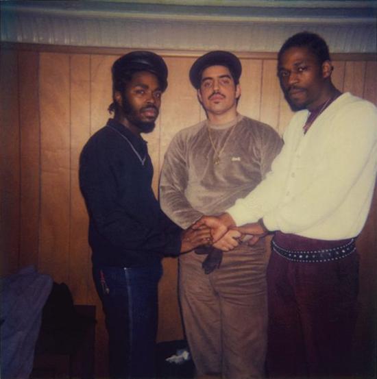 Grandmaster Caz, DJ Disco Wiz & JDL (right-to-left) (1982)