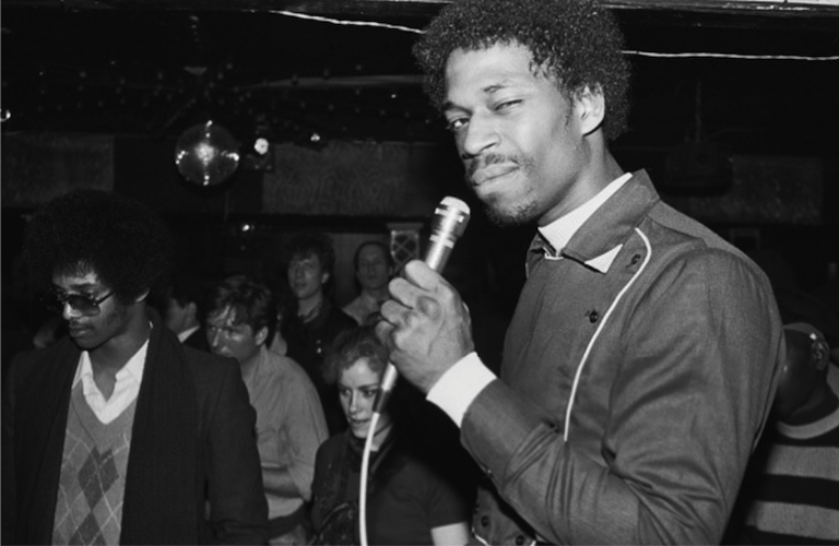 Grandmaster Caz of the Cold Crush Brothers at Club Negril (1981)