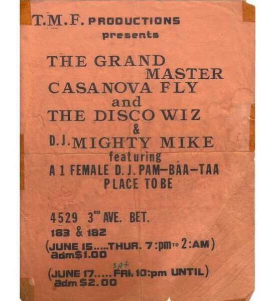 """""""The Mighty Force"""" Party Flyer (1978)"""