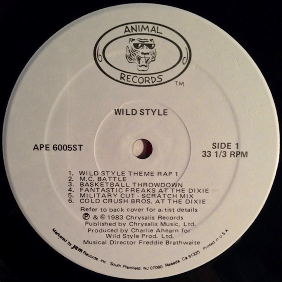 Various – Wild Style (1983)