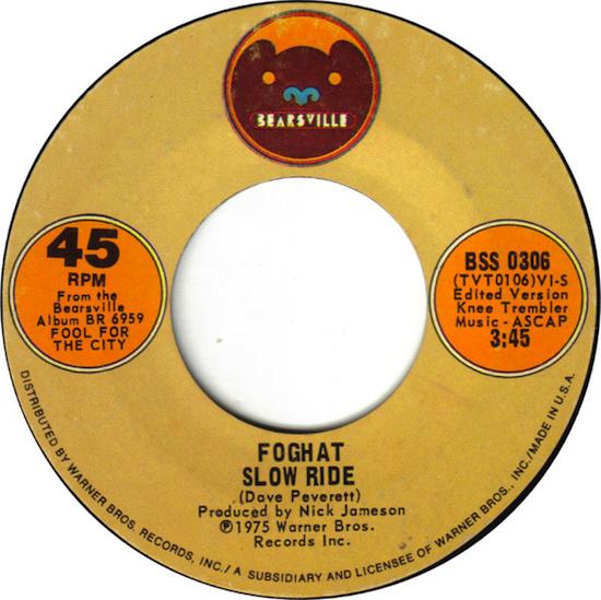 Foghat – Slow Ride (1975)