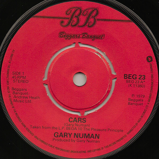 Gary Numan – Cars (1979)