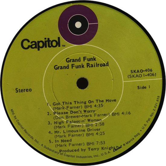 Grand Funk Railroad – Grand Funk (1969)