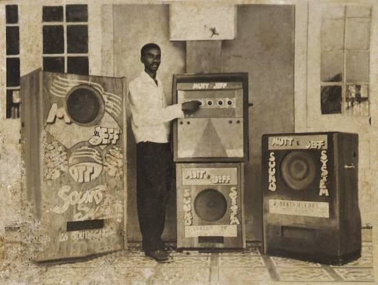 """""""Mutt and Jeff Hi Fi"""" Sound System (late 50s)"""