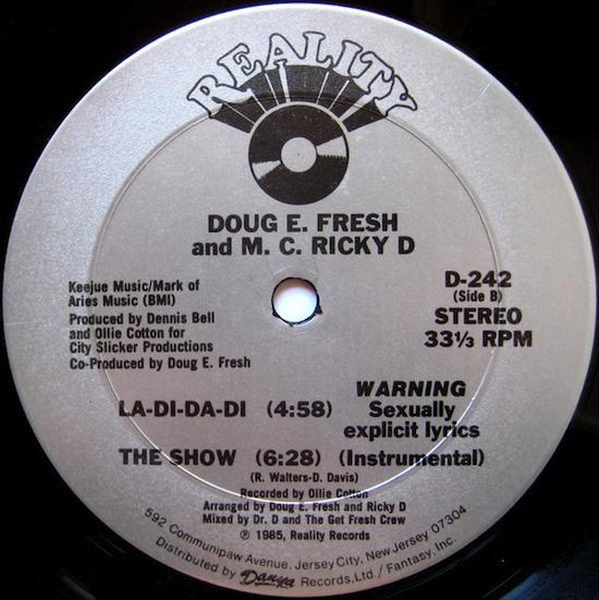 Doug E. Fresh & M.C. Ricky D – La-Di-Da-Di (1985)