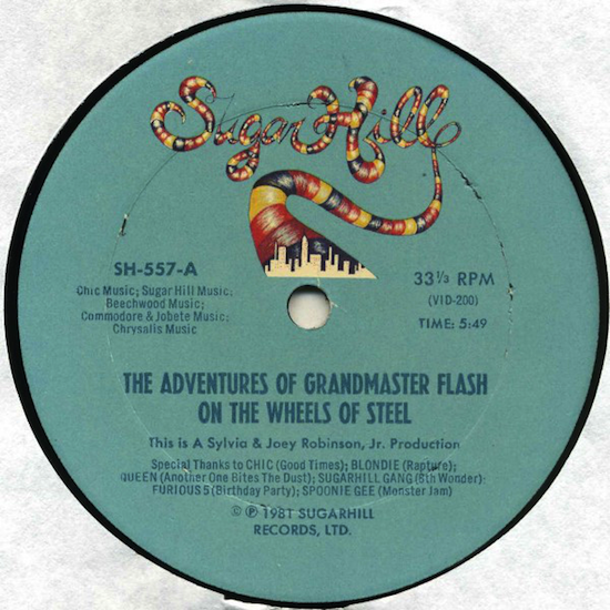 Grandmaster Flash And The Furious Five – The Adventures Of Grandmaster Flash On The Wheels Of Steel (1981)