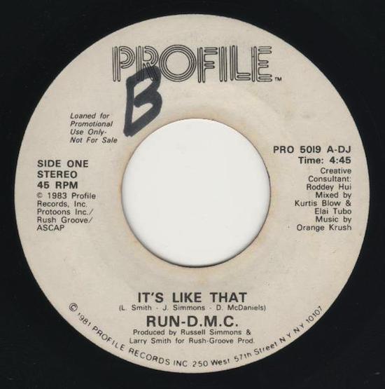 Run-D.M.C. – It's Like That [Promo] (1983)