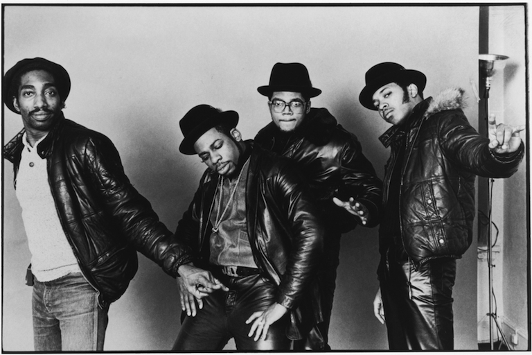 Larry Smith (left) and Run-DMC (1984)