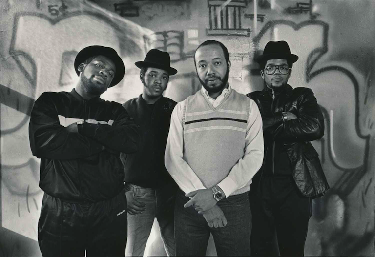 Run-DMC with Russell Simmons (1985)
