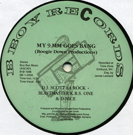 Boogie Down Productions – My 9mm Goes Bang (1986)
