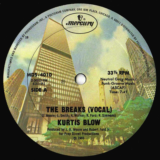Kurtis Blow – The Breaks (1980)