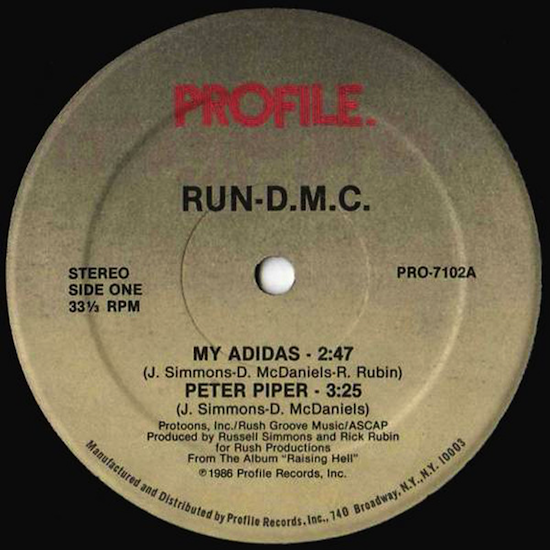 Run-D.M.C. – Peter Piper (1986)