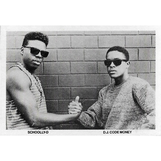 Schoolly D & DJ Code Money (1986)