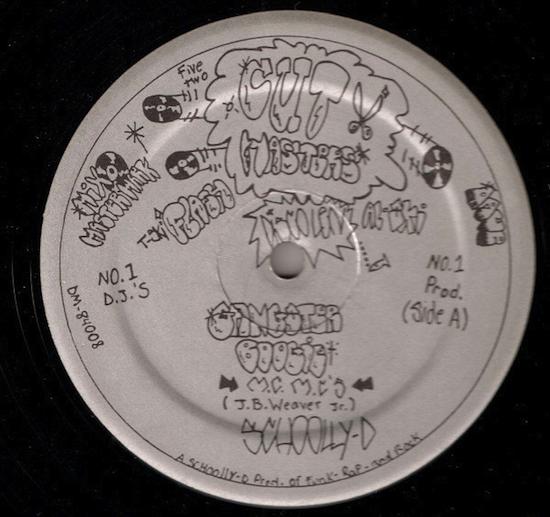 Schoolly D – Gangster Boogie / Maniac (1984)