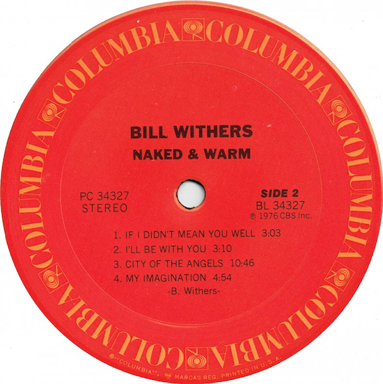Bill Withers - Naked & Warm (1976)