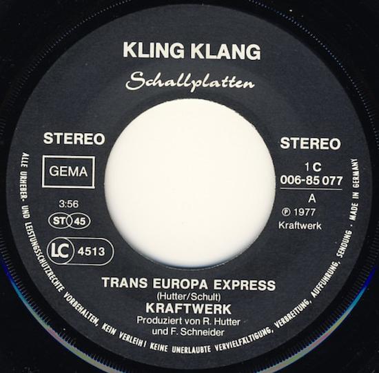 Kraftwerk – Trans Europa Express (1977)