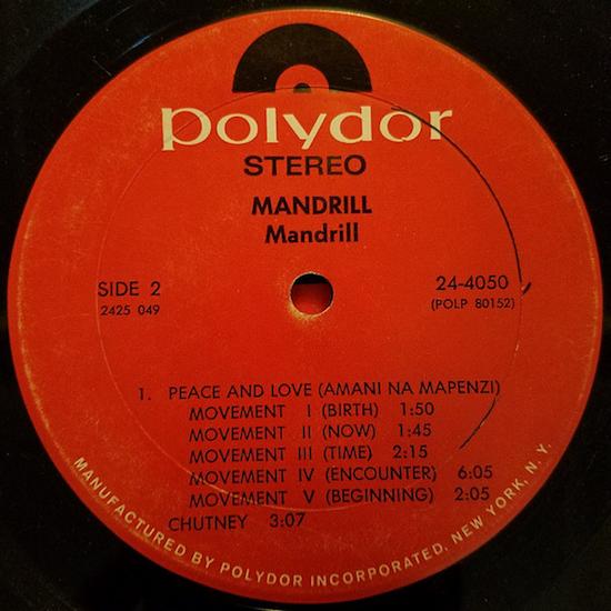 Mandrill – Mandrill (1971)