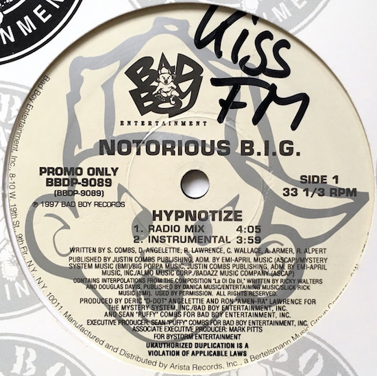 Notorious B.I.G. – Hypnotize (1997)