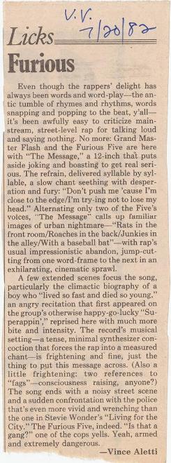 The Village Voice (July 20, 1982)