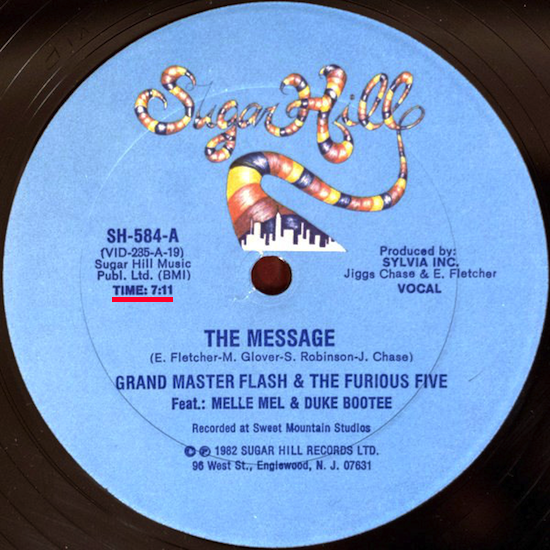 Grandmaster Flash & The Furious Five – The Message (1982)