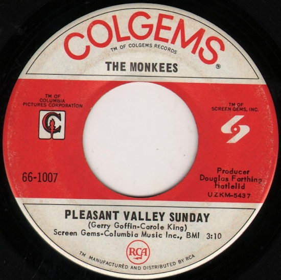 The Monkees – Pleasant Valley Sunday (1967)