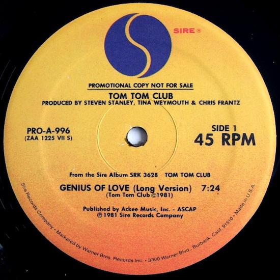 Tom Tom Club – The Genius Of Love (1981)