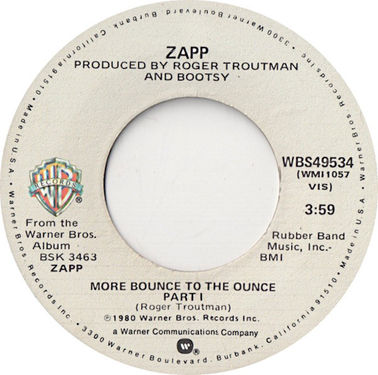 Zapp – More Bounce To The Ounce (1980)